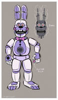 Funtime Bonnie Design by FireFoop