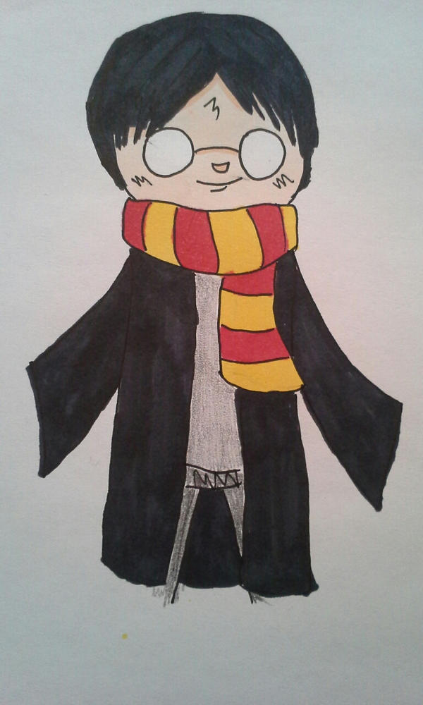 Harry Potter by KuroYamada