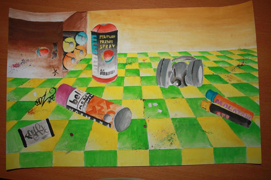 58 - Still life art project by BombinArt