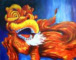 139 - Dragon dance by BombinArt