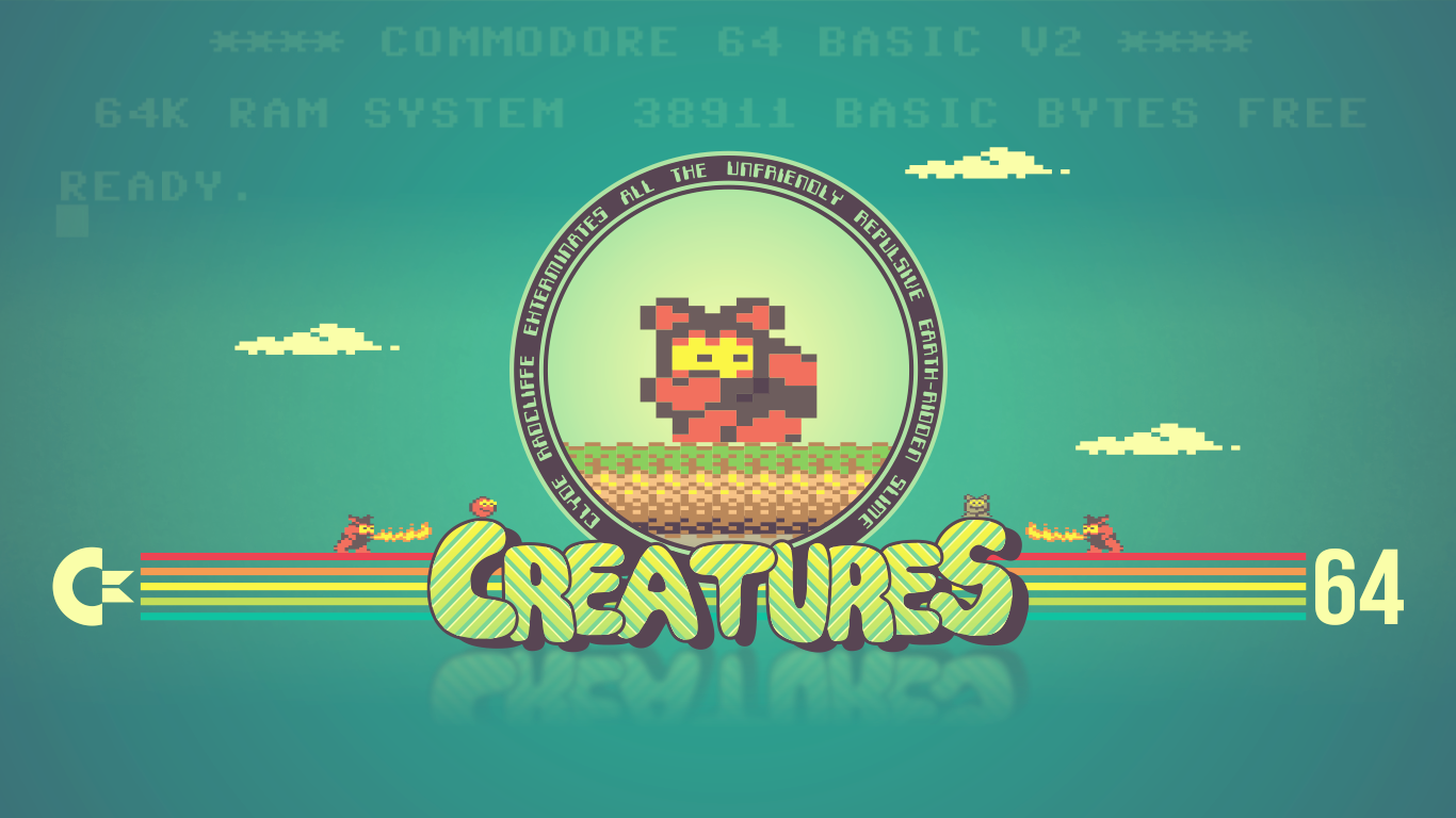 C-64 tribute -CREATURES- by loshke