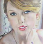 Taylor Swift Colour Pencil Drawing Art | Xszone by EliNozomi