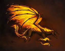 Inferno Dragon Adopt [OPEN] by aviagua