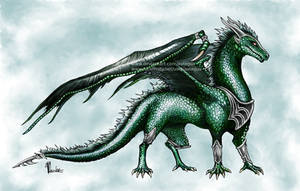 Emerald Dragon Adopt [OPEN] by aviagua