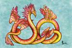 Sunset Serpent Adopt [OPEN]