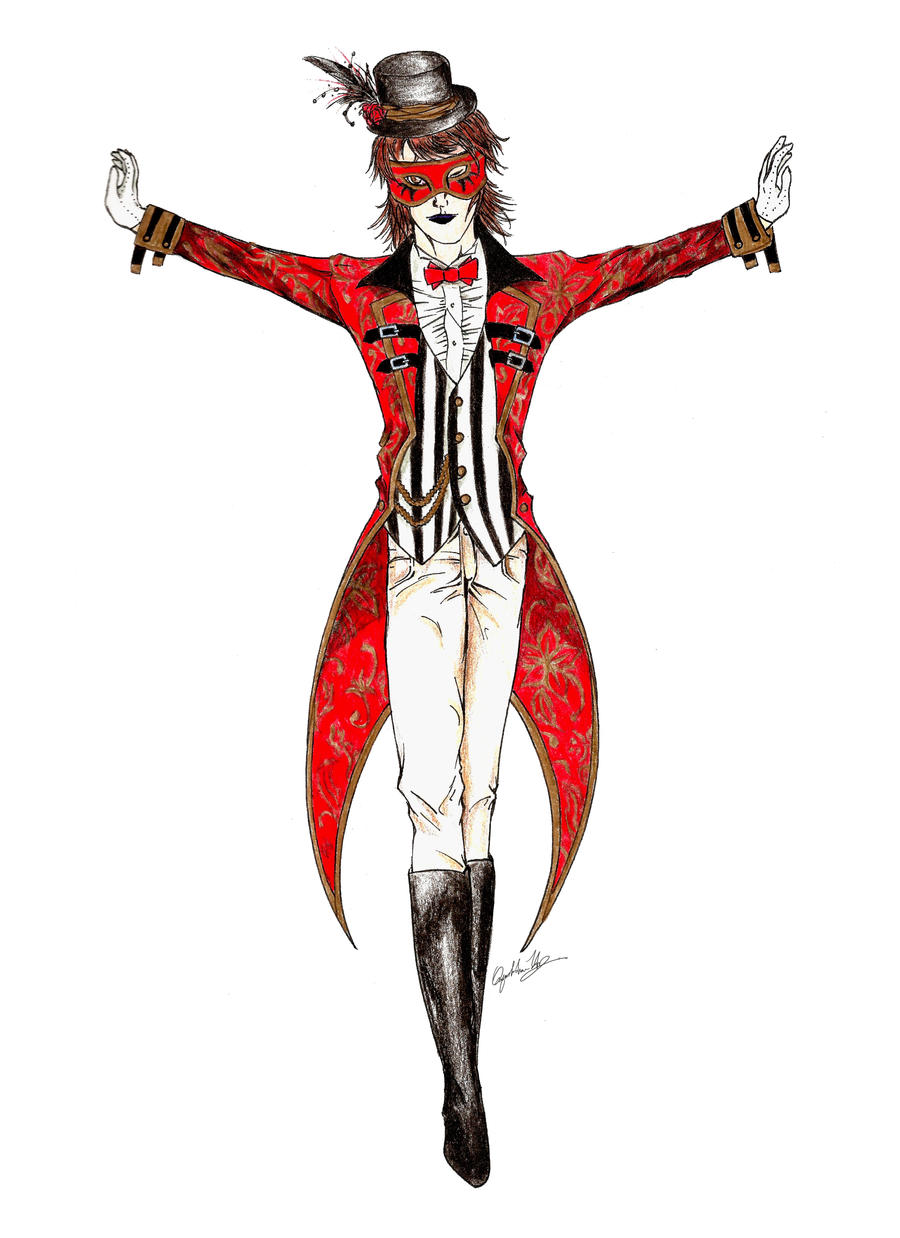 Ringmaster: Cirque du Mensonges by TempusNox on DeviantArt
