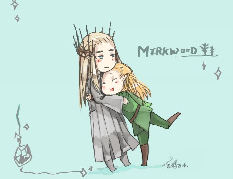 Mirkwood cuties! by vampiry