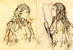 Oropher+Gil-galad