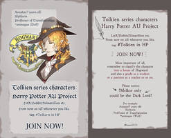 Tolkien series in Harry Potter AU Project by vampiry