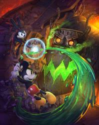 Epic Mickey 2 - Prima Guide Cover by fenton1107