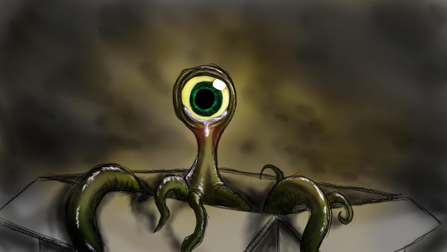 38. Abandoned - Alien by Tiwyll