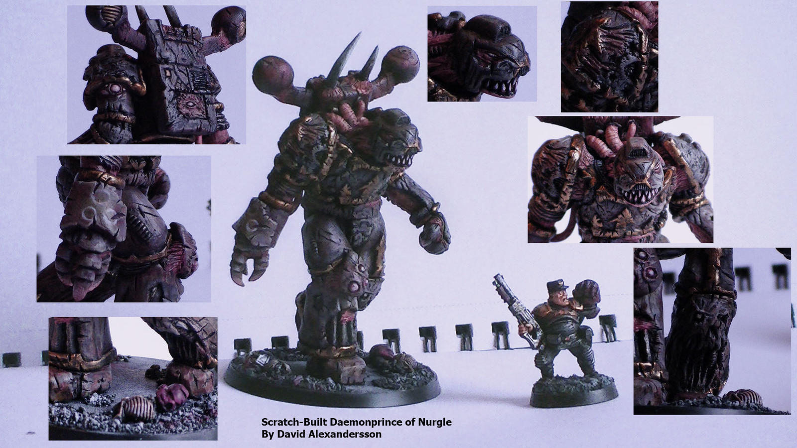 Scratch-built Daemon Prince by Tiwyll on DeviantArt