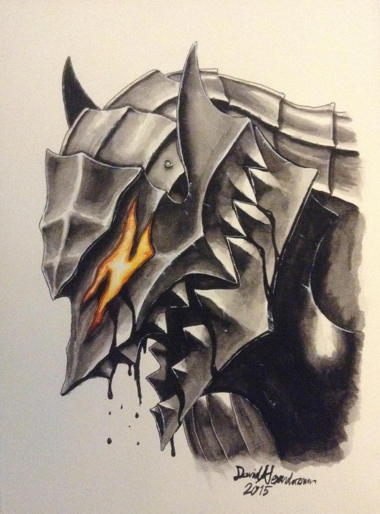 Gatsu Watercolor by Tiwyll