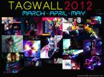 Tagwall Marzo-Abril-Mayo 2012