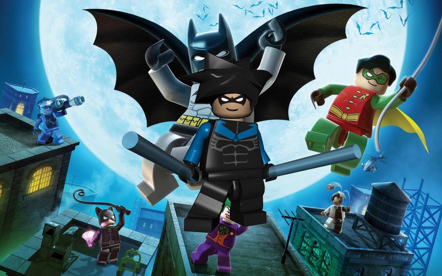 Lego Nightwing by KingdomHeartsJordan on DeviantArt