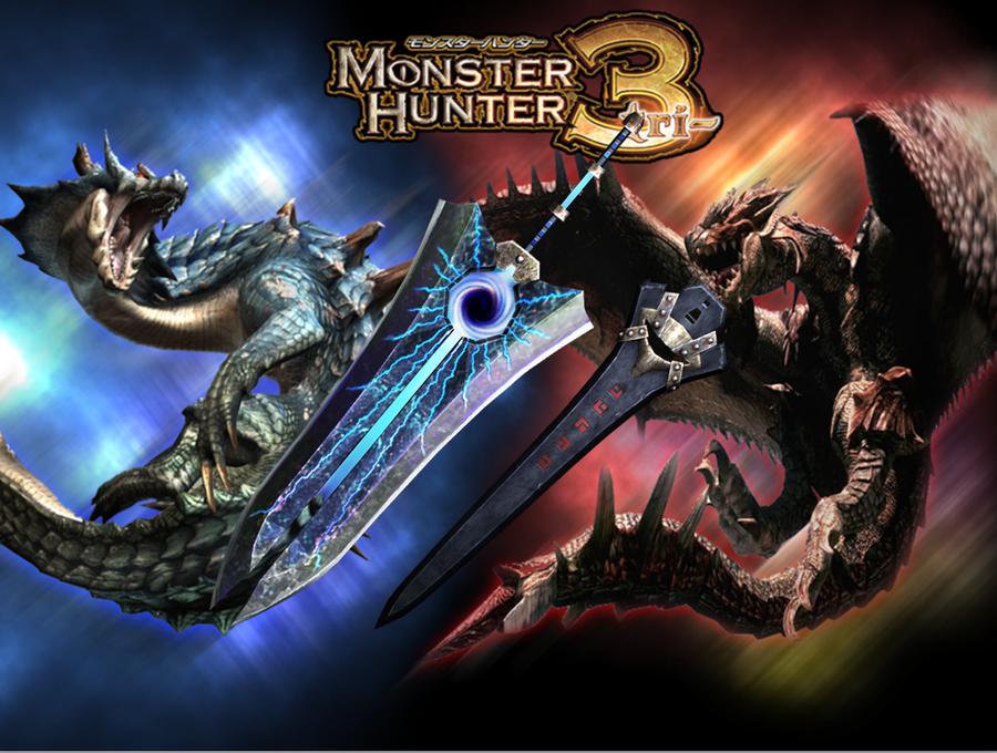 Monster Hunter Tri Great   Greatsword Monster Hunter