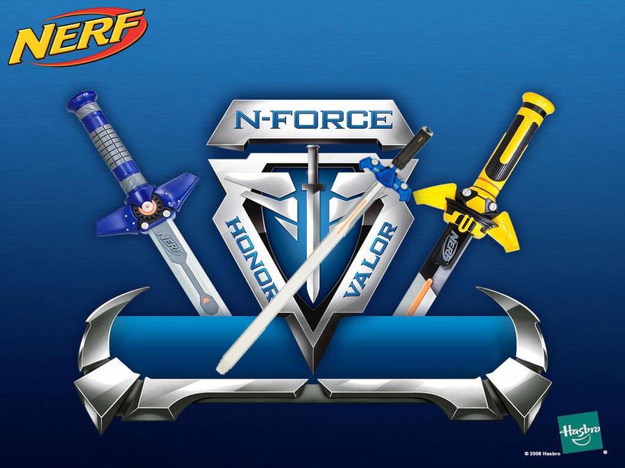 nerf n force vantage sword by kingdomheartsjordan on