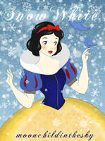 Snow White by MoonchildinTheSky