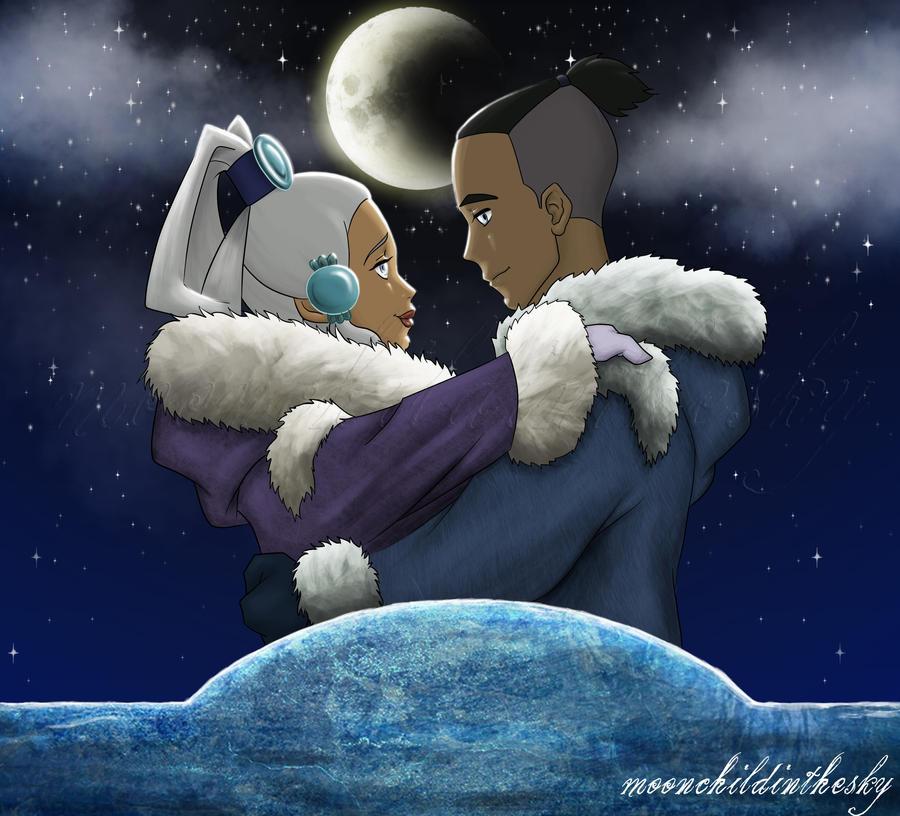 Moon In Avatar Movie: Sokkaxyue By MoonchildinTheSky On DeviantArt