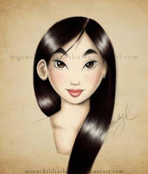 Mulan Portrait Color