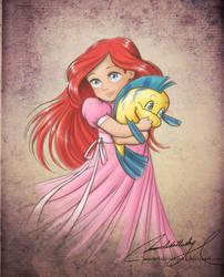 Child Ariel by MoonchildinTheSky