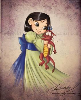 Child Mulan by MoonchildinTheSky