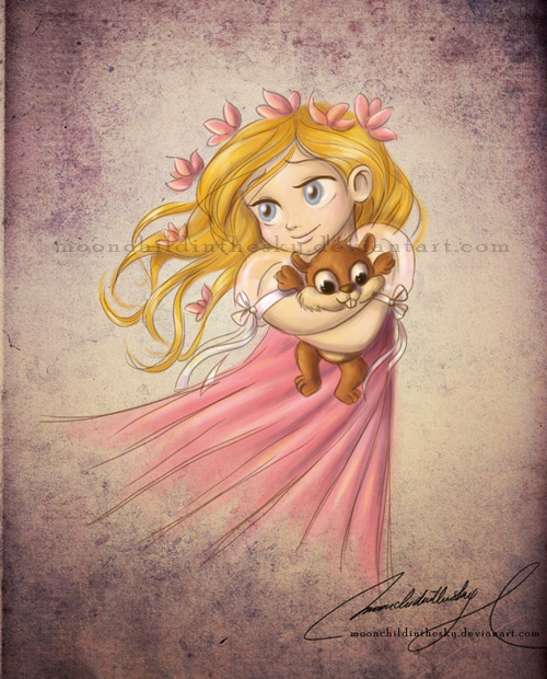 Child Giselle by MoonchildinTheSky