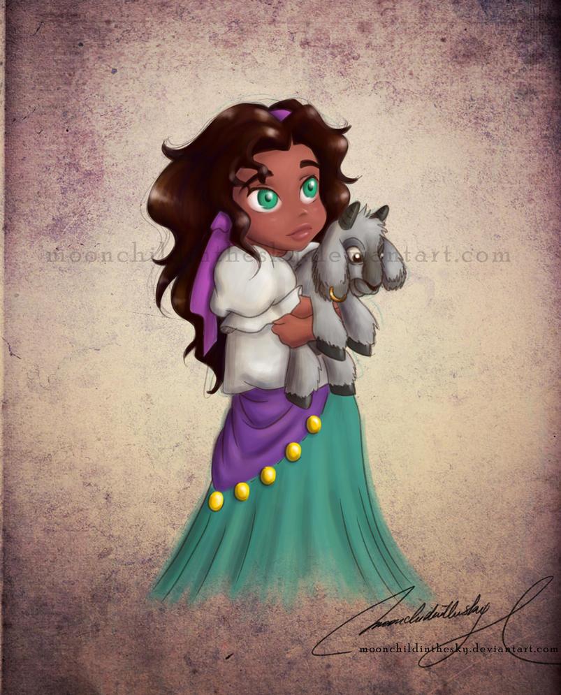 Com: Child Esmeralda by MoonchildinTheSky