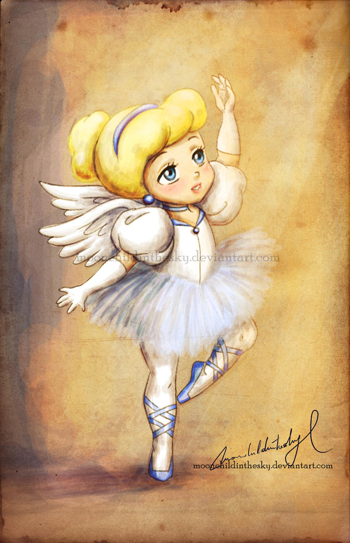 Dancing angel: Cinderella by MoonchildinTheSky