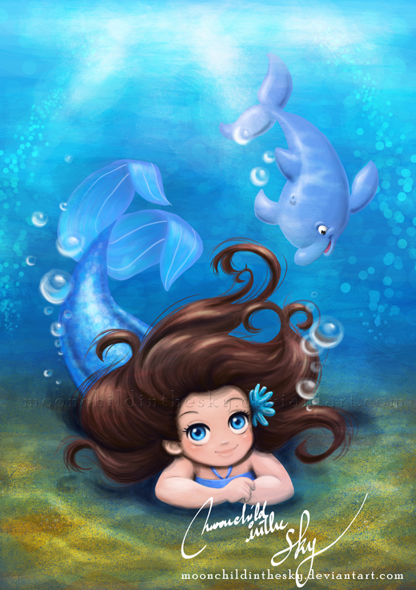 Little Aquata by MoonchildinTheSky
