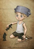 Little Steve by MoonchildinTheSky
