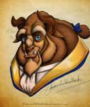 Beast Color Portrait