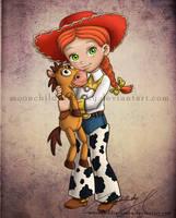 Child Jessie by MoonchildinTheSky