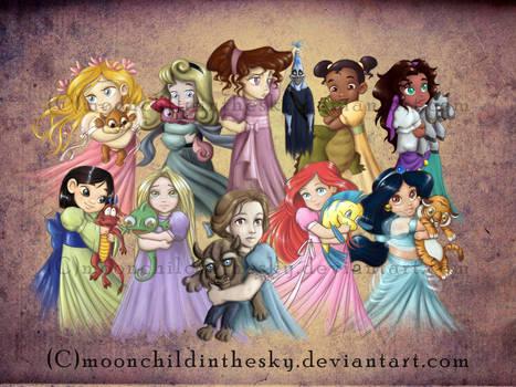 Children Princesses 2011 Collection