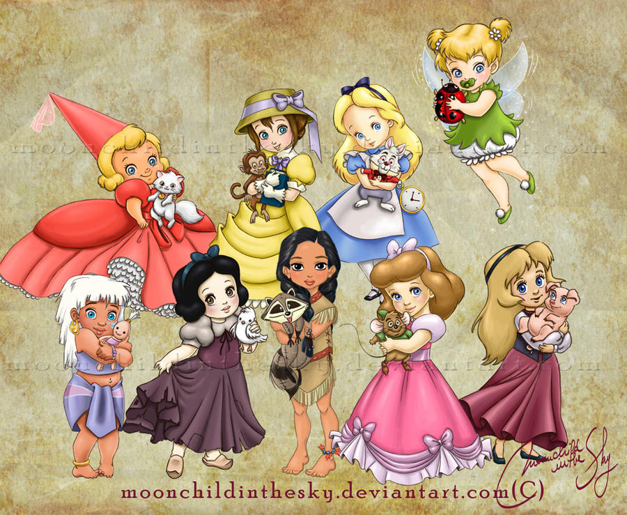Children Princesses 2012 Collection by MoonchildinTheSky ...