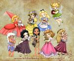 Children Princesses 2012 Collection