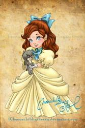 Child Anastasia by MoonchildinTheSky