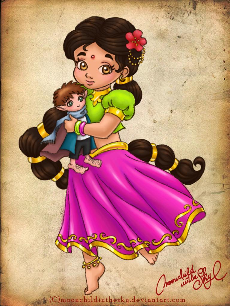 Little Kalini by MoonchildinTheSky