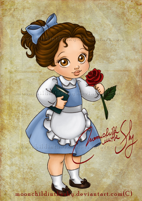 Child Belle by MoonchildinTheSky