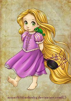 Child Rapunzel