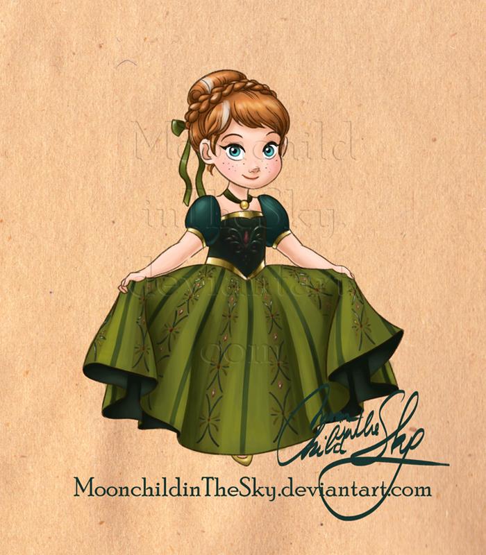 Little Anna by MoonchildinTheSky