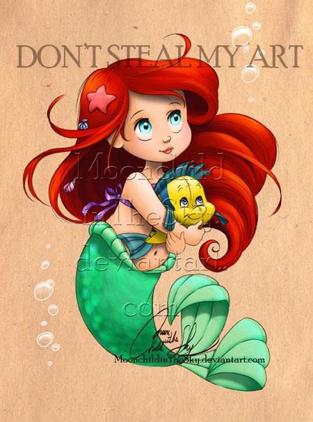 little mermaid by rocketsky - photo #30