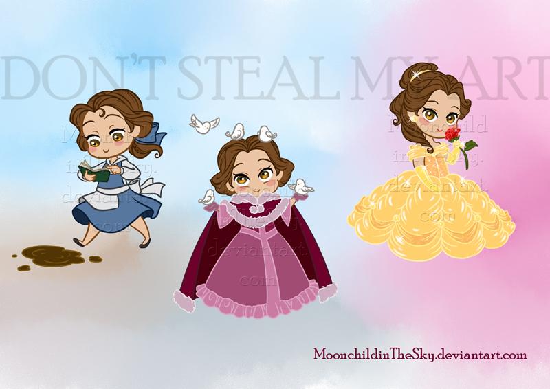 Camilla Belle By Hlcaste On Deviantart: Chibi Principesse By MoonchildinTheSky