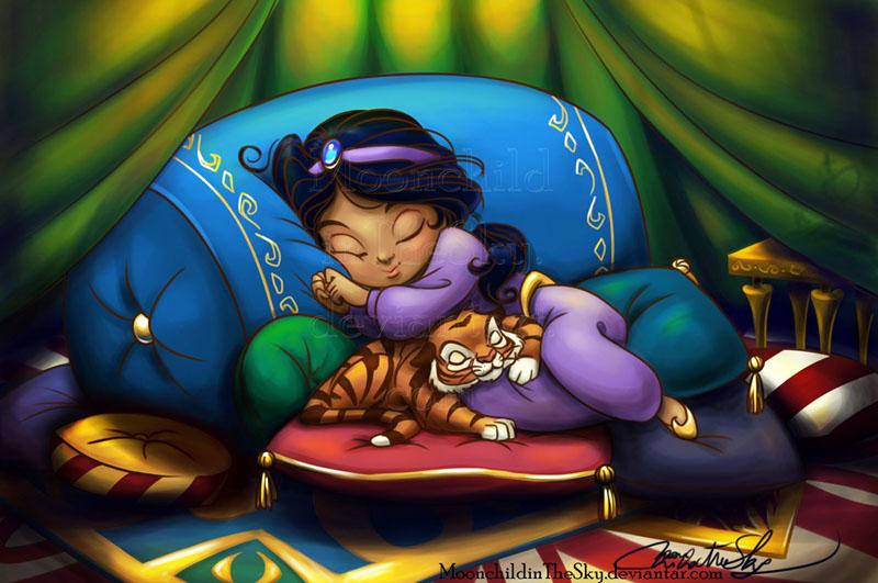 Sweet dreams, little princess by MoonchildinTheSky