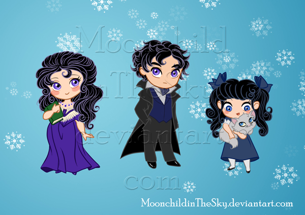 Little family by MoonchildinTheSky