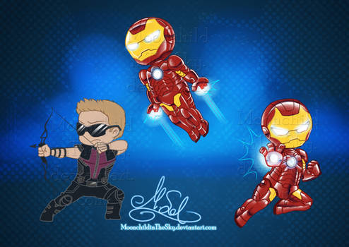 Chibi Avengers Set 3