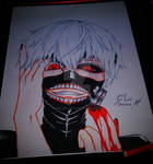 my Kaneki Ken Fan Art