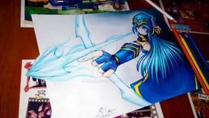 My Ashe FanArt Anime Version :D
