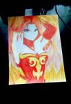 Lina Inverse Anime Version(Fanart)