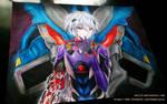 Kaworu Nagisa from Evangelion 3.0